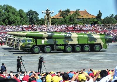 两款可用于反舰弹道导弹现身 可打击大中型舰船