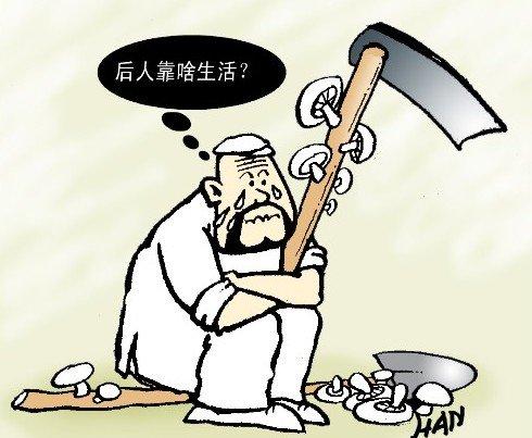 浙江16户农民被征地:相约自杀