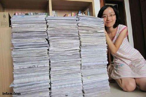 衡水中学1年104人考入清华北大 学生带书跑操