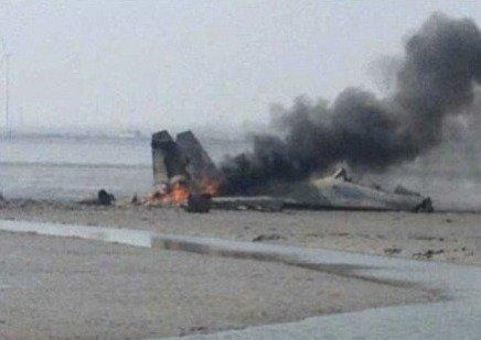 空军一苏27战机在山东失事 两名飞行员不幸牺牲