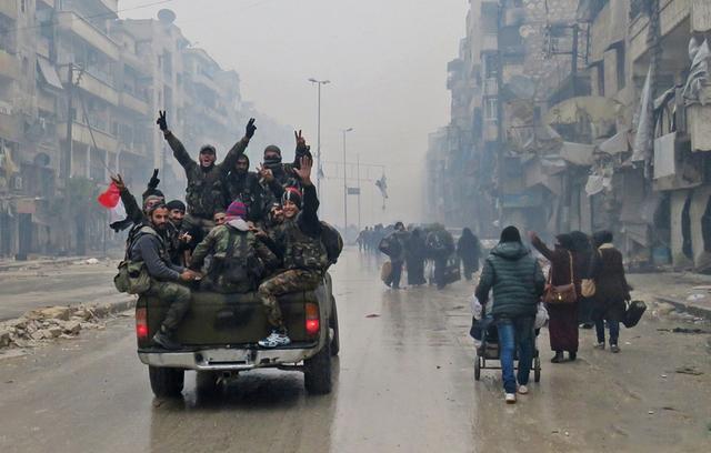 外媒:叙政府与阿勒颇反政府武装告竣新协议