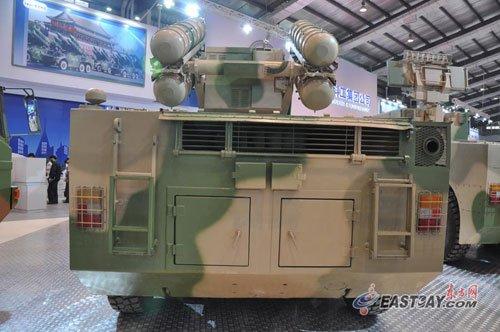 奥运卫士升级版FM-90亮相航展 抗干扰能力强