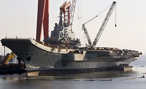 印智库:中国首艘航母施琅号被视作学习曲线