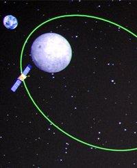 嫦娥二号完成第一次近月制动