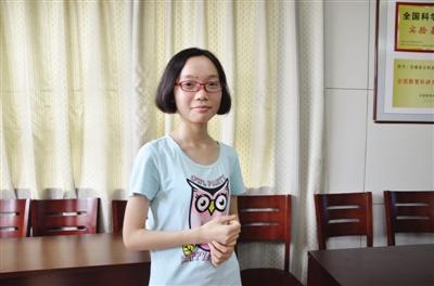 安徽高考理科状元邢梦琳:爱散文喜跑步 想学医