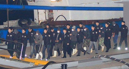 韩媒猜测被捕中国渔民命运 船长最高或被判死刑