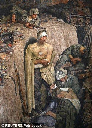 捷克发现希特勒所藏7幅画作 总价约1700万英镑