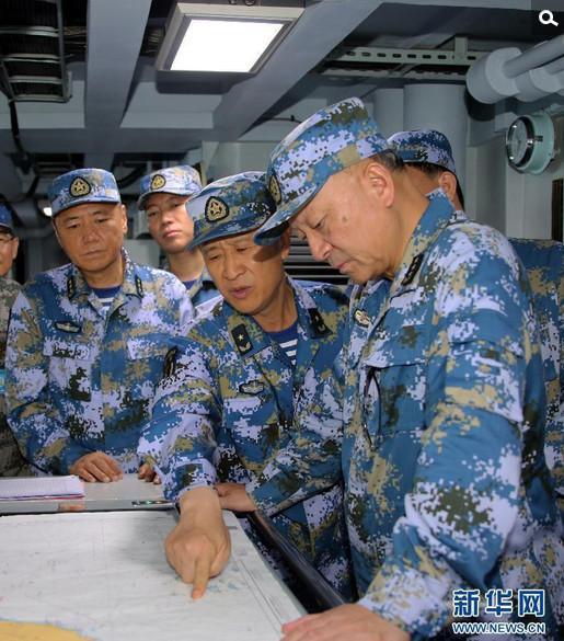 南海军演用导弹雨宣誓:绝不会允许再丢失寸土