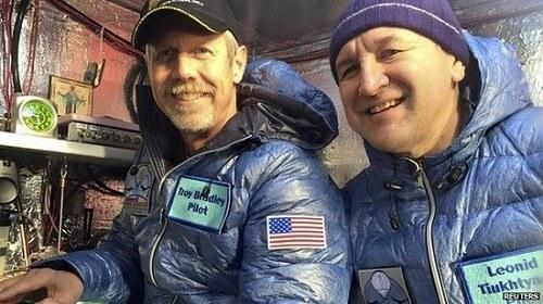 飞行员乘氦气球跨太平洋或创全球最远纪录(图)