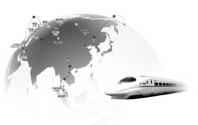 泛亚高铁下月动工建设 从昆明出发南抵新加坡