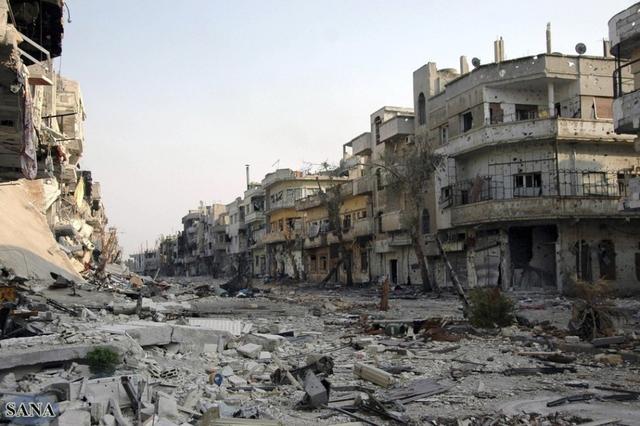 陈诉称叙利亚5年内战已致约47万人口殒命 根底设备险些全毁