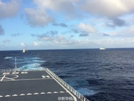 井冈山舰搜寻马航客机逾两月 航程超3万公里