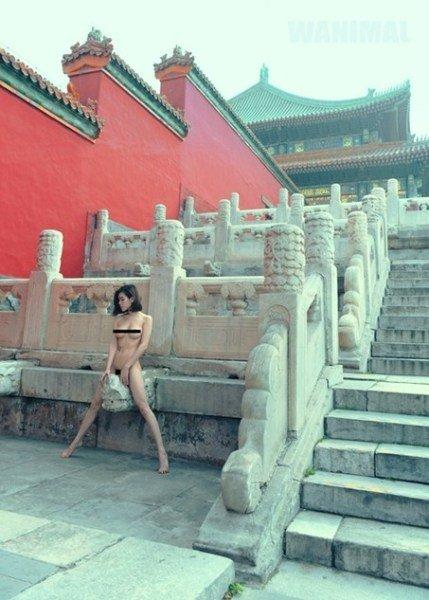 淫人体艺术摄影_摄影师故宫拍摄人体艺术照引争议