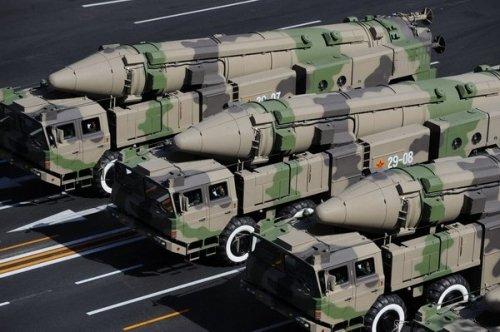 中国能打到美国的核弹仅50枚 美国则有1700枚