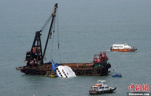 香港撞船事故已造成38人遇难 警方拘捕7名男子
