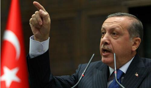 """土耳其总统埃尔多安斥美高官""""支持政变者"""""""