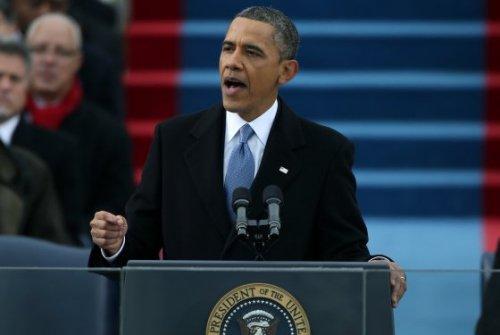 奥巴马发表就职演说 阐明第二任期执政政纲