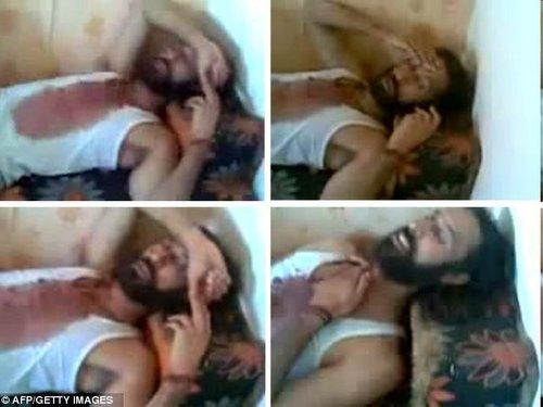 卡扎菲之子穆塔西姆死前照片曝光。