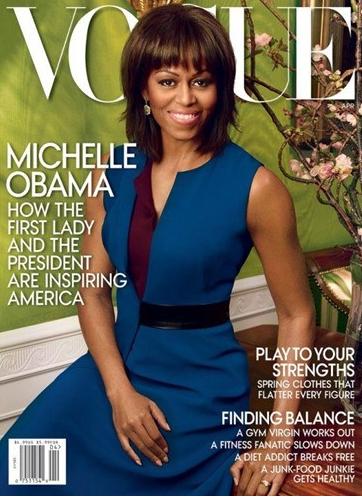 美第一夫人再登史上杂志封面 坦言家庭至上(图)