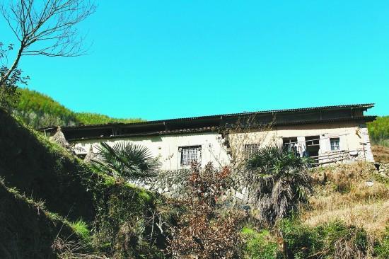 叶石云家的房子 叶小平摄
