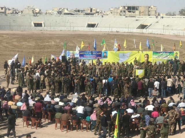 """""""叙利亚民主军""""声明正式宣布控制拉卡"""