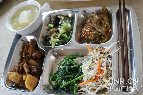 中国空军飞行员伙食高清图片