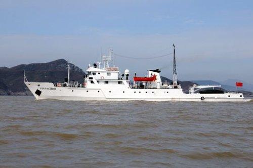 """中国渔政船巡航钓鱼岛海域遭日方""""警告"""""""