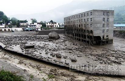 四川茂县泥石流致化工厂氯气泄漏 143人中毒