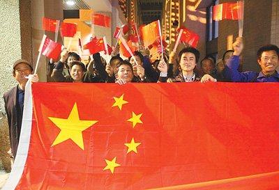 我撤侨行动激发强烈爱国情 海外华人赞伟大壮举
