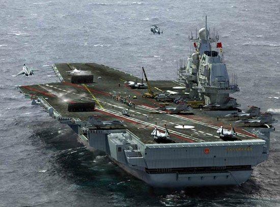 外媒震惊中国航母进度 认为短期内能造好4艘