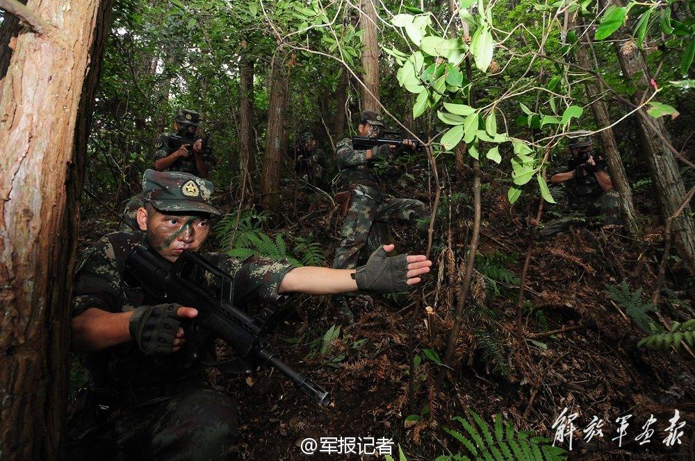 二炮特种警卫的深山老林生活图片