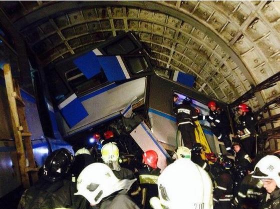 俄地铁脱轨非恐怖袭击 包括司机在内16人死亡