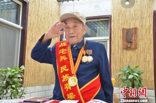 """中国远征军老兵:极想参加阅兵""""年龄大了不添麻烦了"""""""