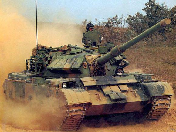 中国陆军还剩多少五对负重轮的59式坦克