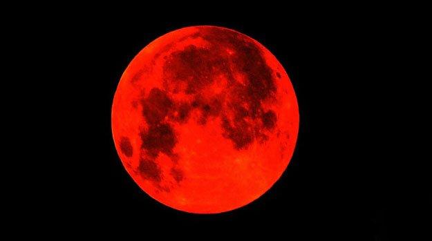〔原创现代诗〕红月亮 - 章保良 - 章保良博客