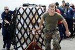 美国太平洋舰队救灾部队到达日本