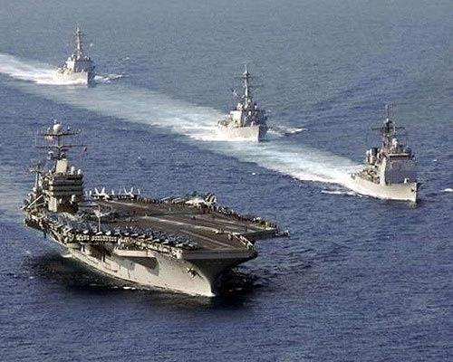 美军派第三舰队舰只支援第七舰队 日媒:针对中国