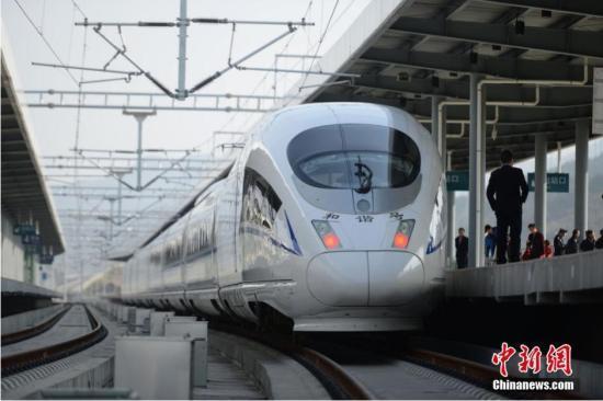 2020年高铁将覆盖八成50万以上人口城市