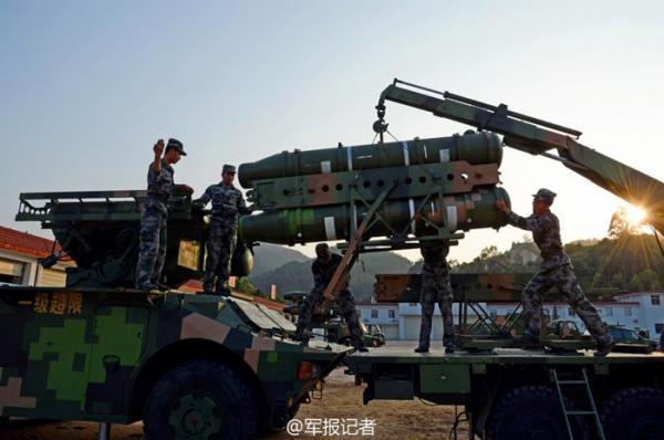 解放军对台主力部队换装新导弹 或为红旗17
