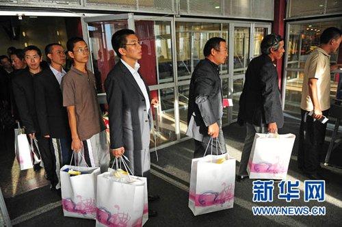 29名苏丹被劫持中国工人将于今日下午抵达北京