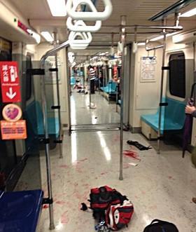 台媒:台北地铁随机砍人事件致3死8伤