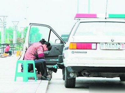 驾乘人员不是公安民警