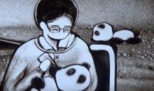 """""""熊猫妈妈""""上两会"""