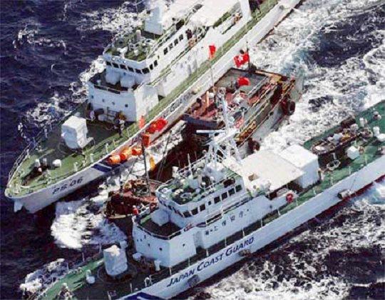"""日""""国有化""""钓鱼岛2年:中国渔船""""入侵""""剧增"""