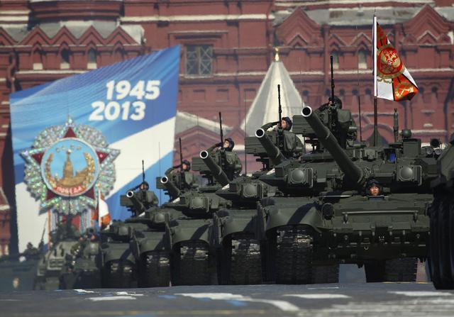 俄称5月胜利阅兵只展示新武器 将有新装备亮相