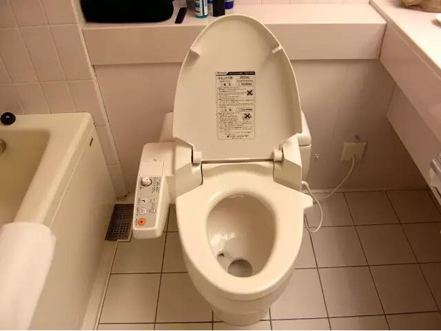 日本人的卫生间都有啥好东西