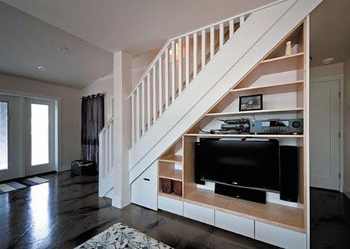 兼具各种不同机能的楼梯设计