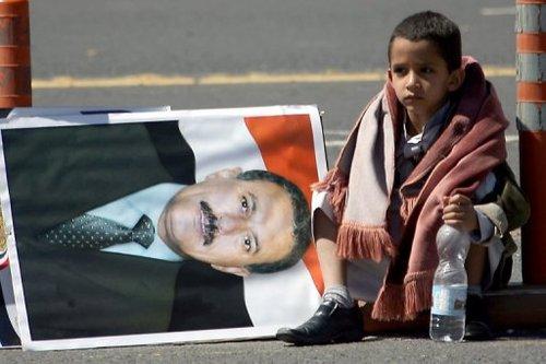 也门总统萨利赫已统治也门33年