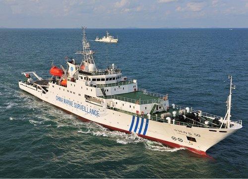 日出动大批巡逻船和飞机应对中方海监船