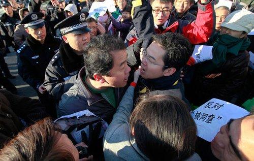 京沈高铁遭北京居民抗议 铁道部环保部暗中角力